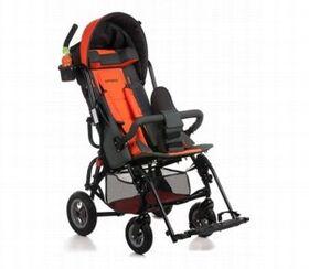 Кресло-коляска Umbrella Optimus для детей с ДЦП (пневмо колёса) фото 5