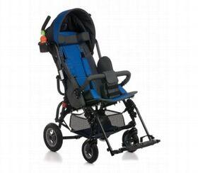 Кресло-коляска Umbrella Optimus для детей с ДЦП (пневмо колёса) фото 2