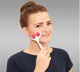 Массажер механический ZQ001 для лица фото 1
