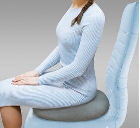 Подушка ортопедическая П-240 на сиденье  фото 1
