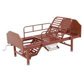 Кровать медицинская механическая Мед-Мос E-49(MM-2120Н-00) ЛДСП фото 1