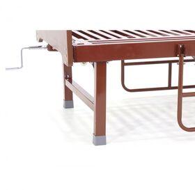 Кровать медицинская механическая Мед-Мос E-49(MM-2120Н-00) ЛДСП фото 3
