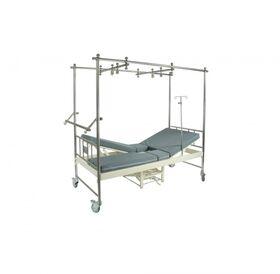 Кровать медицинская механическая Мед-Мос F-24(MM-44) 2 функции фото 3