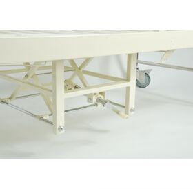 Кровать медицинская механическая Мед-Мос F-24(MM-44) 2 функции фото 2
