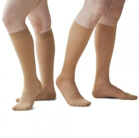 Чулки компрессионные Польза 3002 ниже колена с мыском (2 класс) фото 2