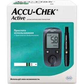 Глюкометр Accu-Chek Activ Акку-Чек Актив (комплект) фото 2