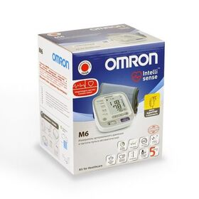 Тонометр Omron M6 автоматический с адаптером и универсальной манжетой фото 1