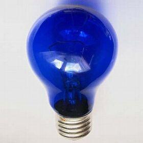 Лампа синяя А55 (100) 230-60 для рефлектора Ясное солнышко фото 1