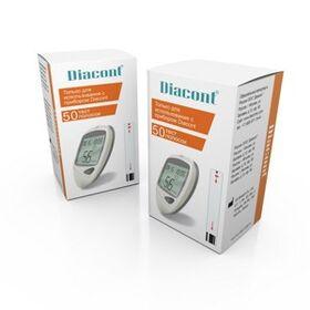 Тест-полоски Diacont, 50 шт. фото 1