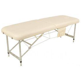 Массажный стол складной алюминиевый JFAL01-F 2-х секционный фото 1