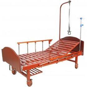 Кровать медицинская механическая Мед-Мос E-17B(ММ-1024Н-00) ЛДСП фото 1