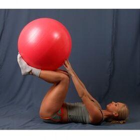 Мяч гимнастический L-0165B 65 см гладкий фото 3