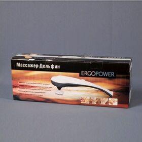 Вибромассажер Ergopower ER-7030 Дельфин с 8 насадками фото 2