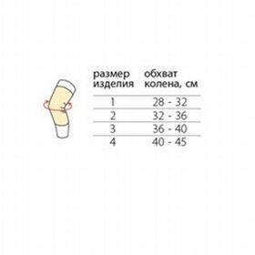 Бандаж П-0803 на коленный сустав фото 2