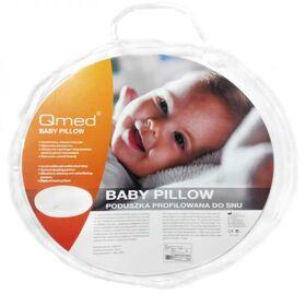 Подушка ортопедическая Qmed Baby Pillow для новорожденных фото 2