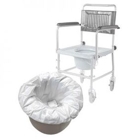 Одноразовые пакеты для кресла-туалета Barry Bag 20 фото 2