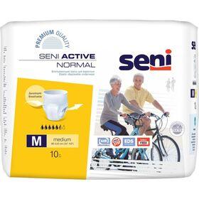 Трусы впитывающие для взрослых Seni Active Normal Medium, 10 шт. фото 1