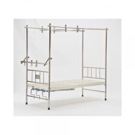 Кровать медицинская механическая Мед-Мос F-24(MM-44) 4 функции фото 3