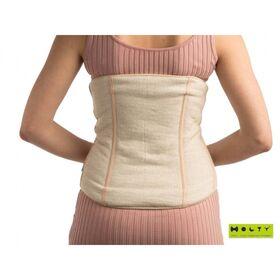 Пояс для спины удлиненный из овечьей шерсти фото 2