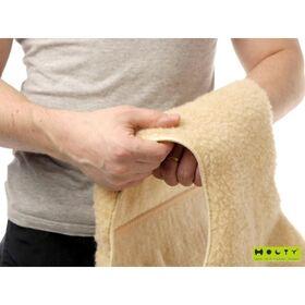 Пояс для спины удлиненный из овечьей шерсти фото 6