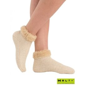 Носки эластичные компрессионные согревающие из овечьей шерсти фото 4