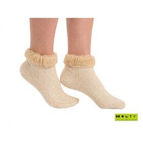 Носки эластичные компрессионные согревающие из овечьей шерсти фото 1