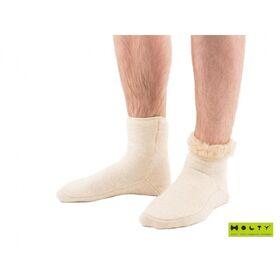 Носки эластичные компрессионные согревающие из овечьей шерсти фото 2