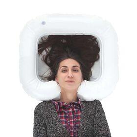 Надувной подголовник для мытья головы 61016 фото 2