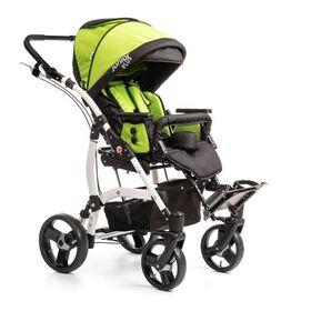 Кресло-коляска Umbrella Junior Plus для детей с ДЦП  (пневмо колёса) фото 3