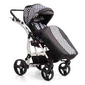 Кресло-коляска Umbrella Junior Plus для детей с ДЦП  (пневмо колёса) фото 9