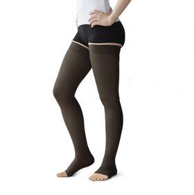 Чулки компрессионные Польза 4001 выше колена без мыска (2 класс) фото 1