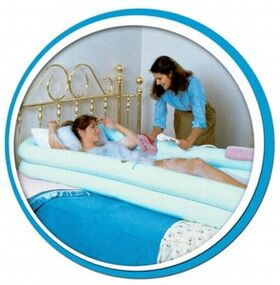 Ванна надувная CA 204MV для мытья человека на кровати фото 6