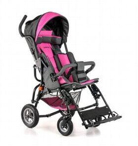 Кресло-коляска Umbrella Optimus для детей с ДЦП (пневмо колёса) фото 3
