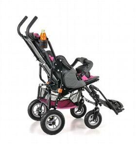 Кресло-коляска Umbrella Optimus для детей с ДЦП (пневмо колёса) фото 4