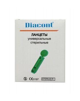 Ланцеты Diacont универсальные, 50 шт фото 1